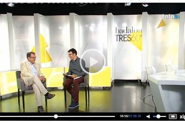 Entrevista a Miquel Barceló en la Televisión de Badalona