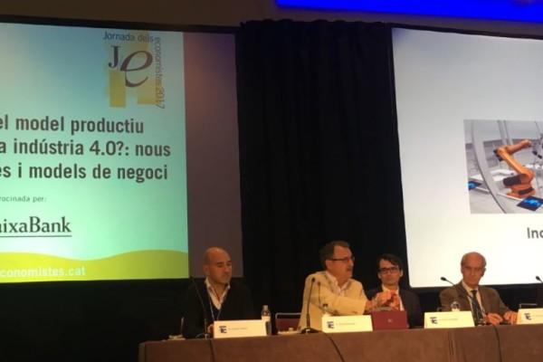 Transformació del model productiu a Catalunya, cap a la industria 4.0?: nous processos, productes i models de negoci